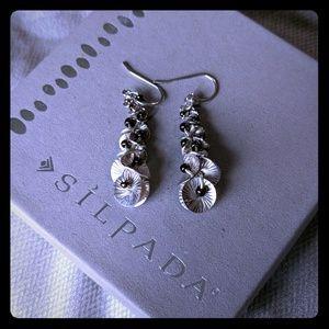 "Silpada NWT ""Waterfall"" earrings. Retired."